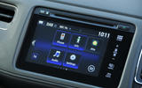 Honda HR-V Black Edition infotainment system