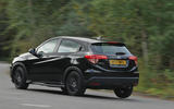 Honda HR-V Black Edition rear cornering