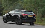 Honda HR-V Black Edition rear cornering