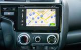 Honda Jazz infotainment system