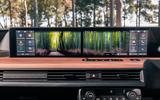 Britain's best in-car technology 2020 - Honda E garden display