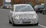 Honda Urban EV spied on the road - headlights