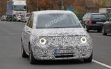 Honda Urban EV spied on the road - headlights