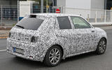 Honda Urban EV spied on the road - rear end
