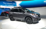 Honda Passport 2018 official reveal - LA stand front