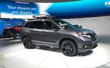 Honda Passport LA motor show debut
