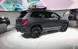 Honda Passport 2018 official reveal - LA stand rear