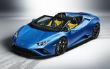 2020 Lamborghini Huracan Spyder - static front