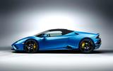 2020 Lamborghini Huracan Spyder - static side