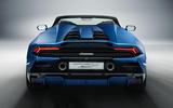 2020 Lamborghini Huracan Spyder - static rear
