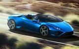 2020 Lamborghini Huracan Spyder - side