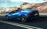 2020 Lamborghini Huracan Spyder - rear
