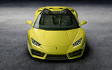 Lamborghini Huracan rear-wheel drive Spyder revealed at LA motor show
