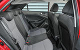 Hyundai i20 rear seats