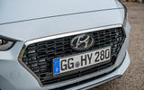 Hyundai i30 Fastback front grille