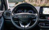Hyundai i30 Fastback steering wheel