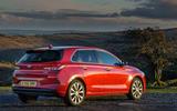 2017 Hyundai i30 1.0 T-GDi 120 SE Nav rear quarter view