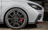 Hyundai i30 N 2018 UK review alloy wheels