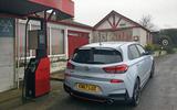 Hyundai i30 N longterm review petrol pump