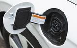 Hyundai Ioniq Plug-in charging port