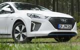 Hyundai Ioniq Plug-in front end