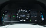 Hyundai Ioniq Plug-in instrument cluster