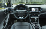 Hyundai Ioniq Plug-in dashboard