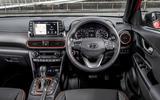 Hyundai Kona 1.0 T-GDi SE dashboard
