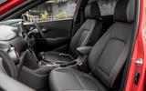 Hyundai Kona 1.0 T-GDi SE front seats