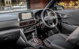 Hyundai Kona 1.0 T-GDi SE interior