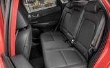 Hyundai Kona 1.0 T-GDi SE rear seats