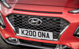 Hyundai Kona close-up front