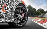 Hyundai I30 N Project C wheel
