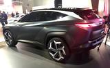 Hyundai Concept T at LA Motor show 2019 - rear