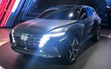 Hyundai Concept T at LA Motor show 2019 - front