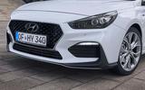 Hyundai i30 N Fastback front bumper
