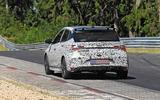 New Hyundai i20 N spyshot rear
