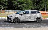 New Hyundai i20 N spyshot side