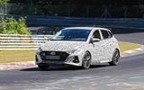 New Hyundai i20 N spyshot side front