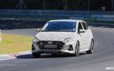 New Hyundai i20 N spyshot front side