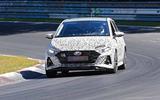 New Hyundai i20 N spyshot front