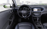 Hyundai Ioniq HEV dashboard
