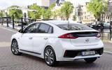 Hyundai Ioniq HEV rear quarter