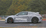 Hyundai RM16 N test mule spotted - left side
