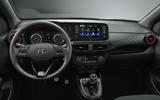 Hyundai i10 N Line official press - interior
