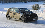 Hyundai i20 spies side front