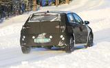 Hyundai i20 spies rear side