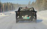 Hyundai i20 spies rear