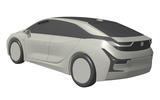 BMW electric hatchback revealed in patent images