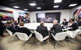 Department bosses meet at the start of 'Design Thursday'